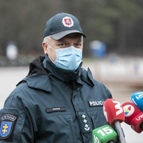 Spaudos konferencija dėl policijos darbo  © P. Peleckio / Fotobanko nuotr.