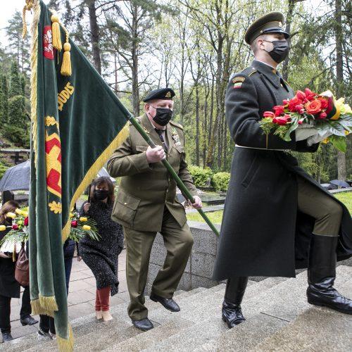 A. Kraujelio-Siaubūno paminklo šventinimo ceremonija  © P. Peleckio / Fotobanko nuotr.