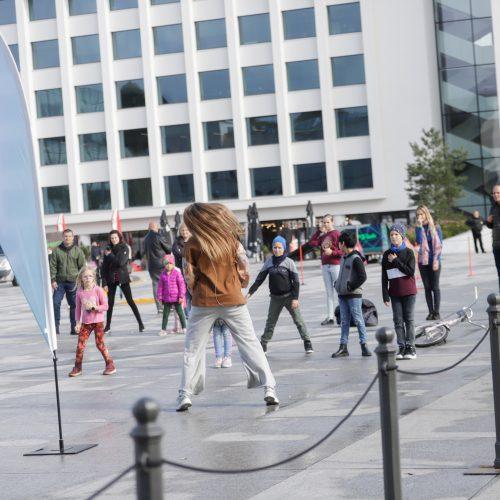 Judėjimo sveikuoliai okupavo Vienybės aikštę