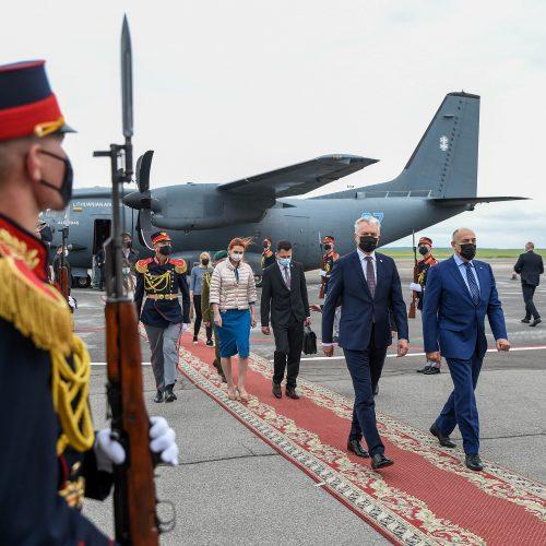 G. Nausėdos vizitas Moldovoje  © J. Auškelio / Prezidentūros nuotr.