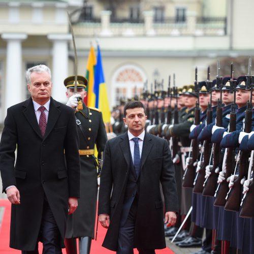 Ukrainos prezidento vizitas Lietuvoje