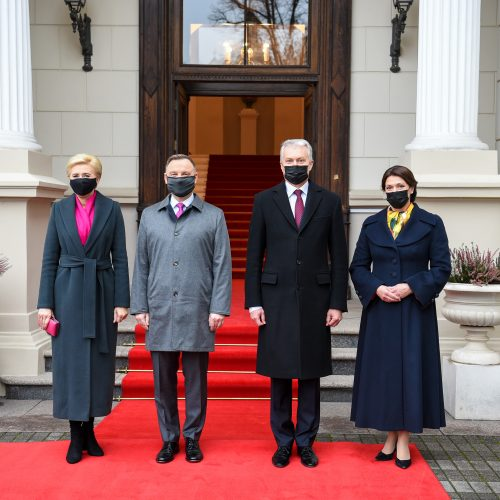 Lenkijos prezidento vizitas Lietuvoje