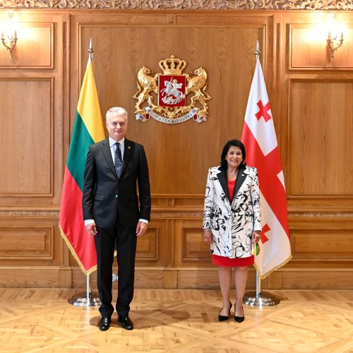 G. Nausėda tęsia vizitą Sakartvele  © R. Dačkaus / Prezidentūros nuotr.