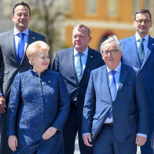 Prezidentė – Europos Vadovų Tarybos posėdyje