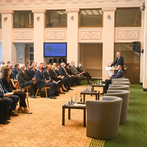 Prezidentas atidarė Regionų forumą