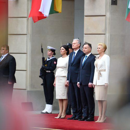 G. Nausėdos vizitas į Lenkiją