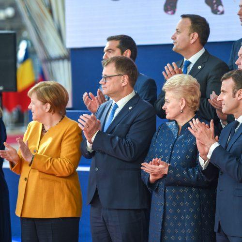 Prezidentė dalyvauja Europos Vadovų Taryboje  © R. Dačkaus / Prezidentūros nuotr.