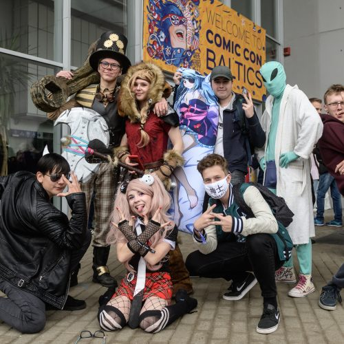 """Akimirkos iš renginio """"Comic Con Baltics""""  © Organizatorių, G. Skaraitienės / Fotobanko nuotr."""