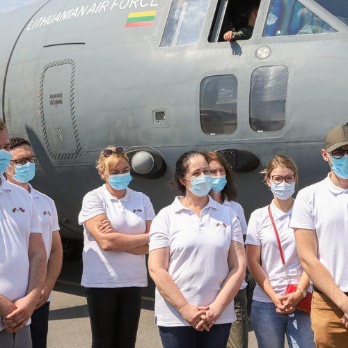 Iš Armėnijos grįžo medikų pagalbos misija