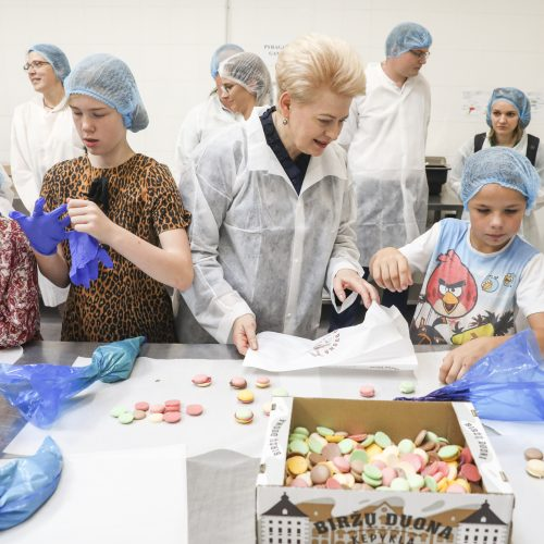 D. Grybauskaitė lankosi Biržuose  © M. Morkevičiaus / ELTOS nuotr.