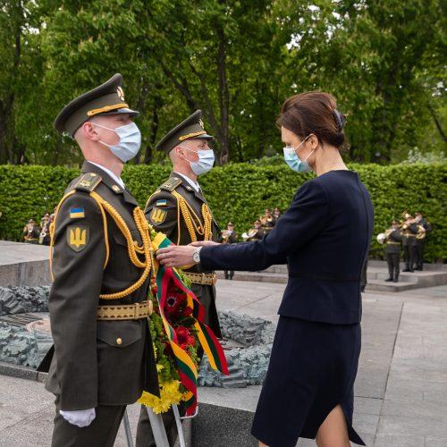 Seimo pirmininkės vizitas Ukrainoje  © O. Posaškovos / Seimo kanceliarijos nuotr.