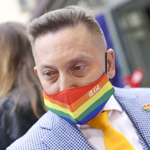Tarptautinė diena prieš homofobiją ir transfobiją  © M. Morkevičiaus / ELTOS nuotr.