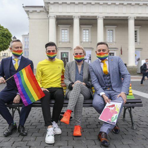 Laisvės partijos dovana Vilniui  © M. Morkevičiaus / ELTOS nuotr.