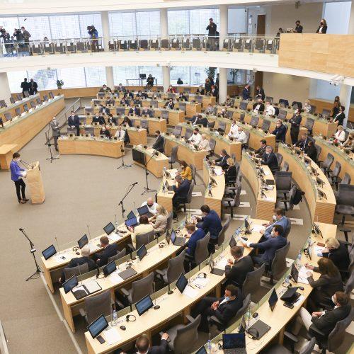 Seime – Partnerystės įstatymo projekto pateikimas