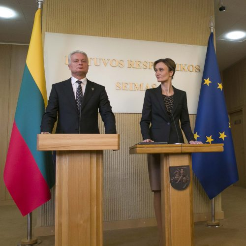 Prezidentas susitiko su Seimo valdyba