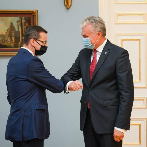 G. Nausėda susitiko su Lenkijos premjeru