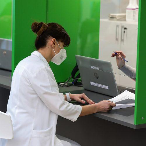 Revakcinuojami Kauno klinikų darbuotojai  © Kauno klinikų nuotr.