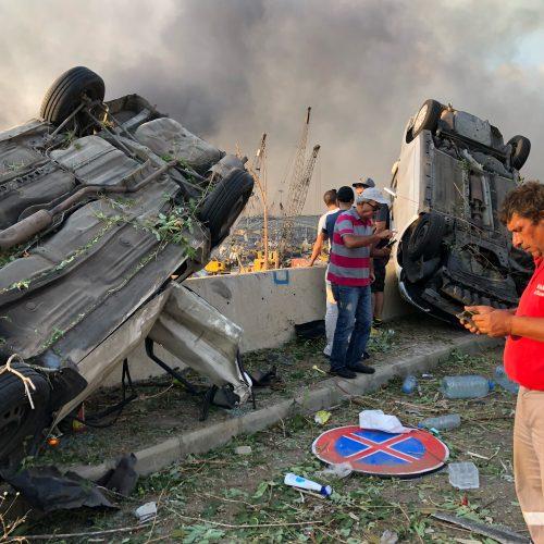 Sprogimas Beirute  © Scanpix nuotr.