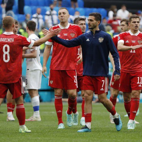 Euro 2020: Rusija-Suomija 1:0  © Scanpix nuotr.
