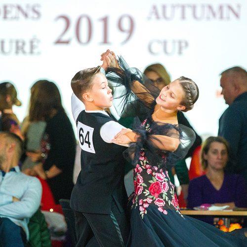 """""""Rudens taurė 2019"""". Sportiniai šokiai  © Evaldo Šemioto nuotr."""