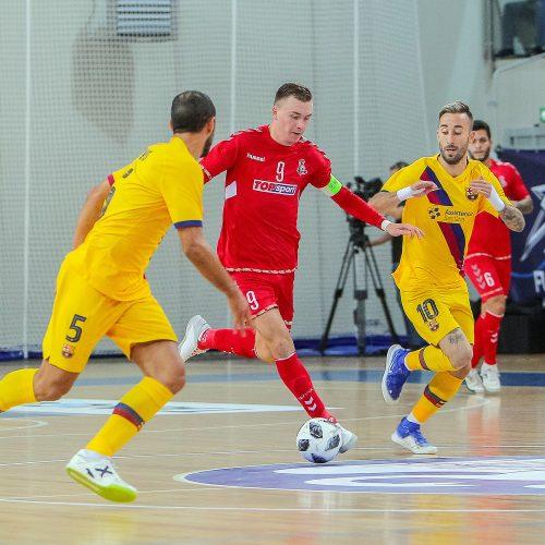 """Futsalas: """"Vytis"""" – """"Barcelona"""" 0:8  © Evaldo Šemioto nuotr."""