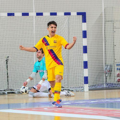 "Futsalas: ""Vytis"" – ""Barcelona"" 0:8"