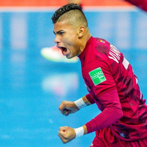 Venesuela – Marokas 2:3   Futsalo PČ  © Evaldo Šemioto nuotr.
