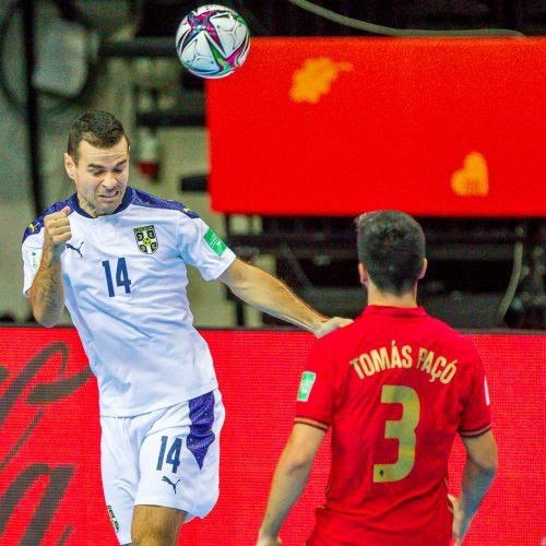 Portugalija – Serbija 4:3 | Futsalo PČ  © Evaldo Šemioto nuotr.