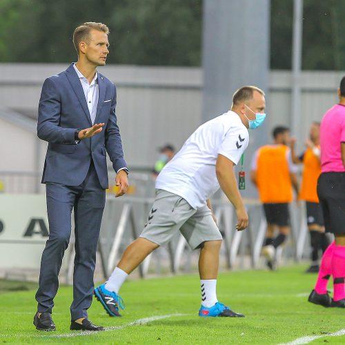 "UEFA EKL: ""Kauno Žalgiris"" – ""Europa"" 2:0  © Evaldo Šemioto nuotr."
