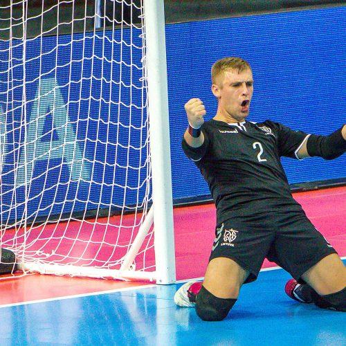 Lietuva – Kazachstanas 0:3 | Futsalo PČ  © Evaldo Šemioto nuotr.
