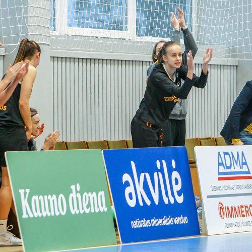"""Moterų lyga: """"Aistės-LSMU"""" – """"Kibirkštis-MRU"""" 55:82  © Evaldo Šemioto nuotr."""