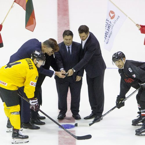 Ledo ritulys: Lietuva – Japonija 3:2  © Evaldo Šemioto nuotr.