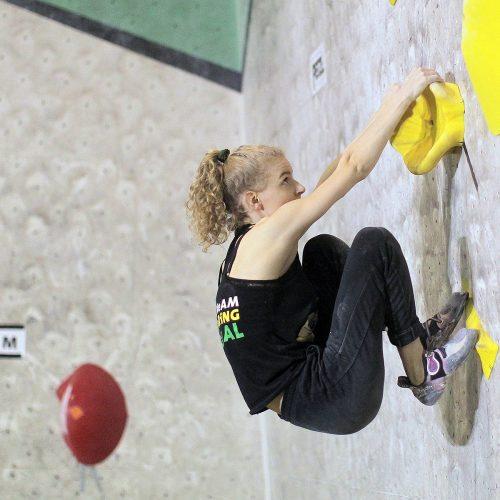 Boulderingas. Lietuvos čempionatas 2019  © Evaldo Šemioto nuotr.
