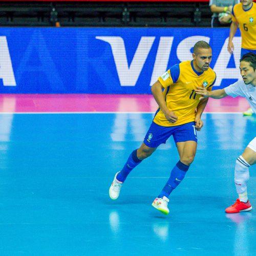 Brazilija – Japonija 4:2 | Futsalo PČ  © Evaldo Šemioto nuotr.