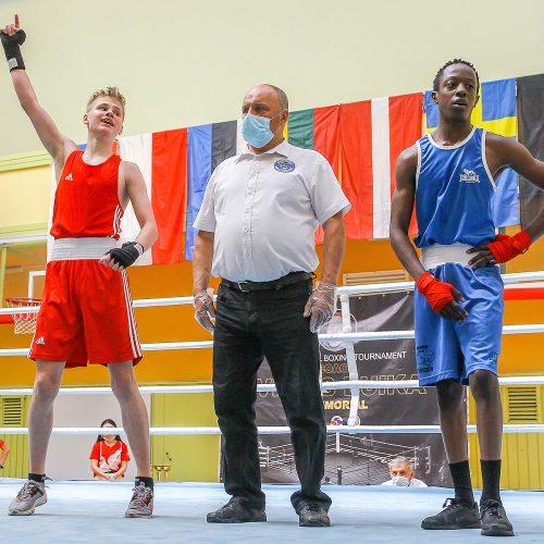 V.Buikos atminimo bokso turnyro finalai  © Evaldo Šemioto nuotr.