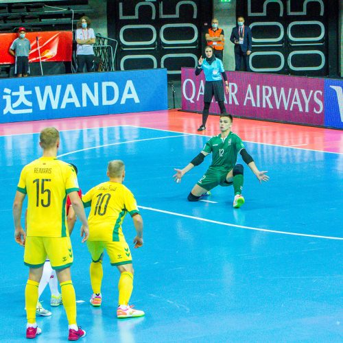 Kosta Rika – Lietuva 6:2 | Futsalo PČ  © Evaldo Šemioto nuotr.