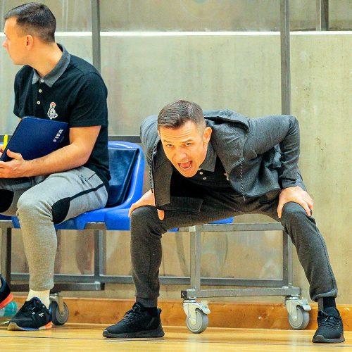 """Futsalas: """"Vytis"""" – """"Gargždų pramogos"""" 2:0"""