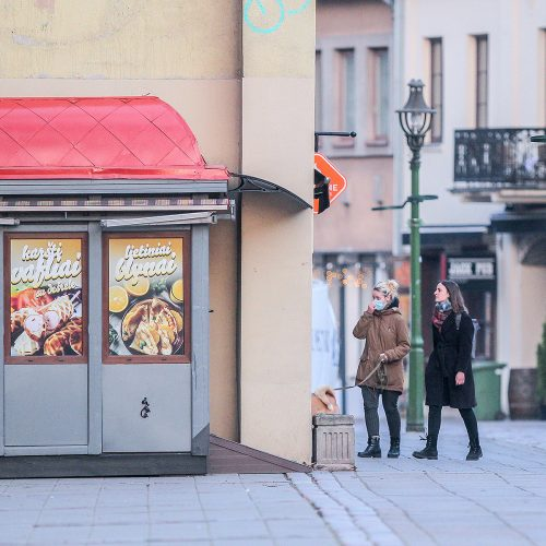 Karantinas Kaune. 12-oji diena  © Evaldo Šemioto nuotr.