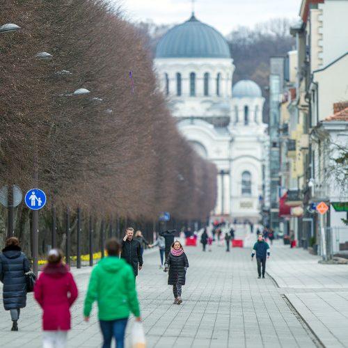 Karantinas Kaune. 21-oji diena  © Evaldo Šemioto nuotr.