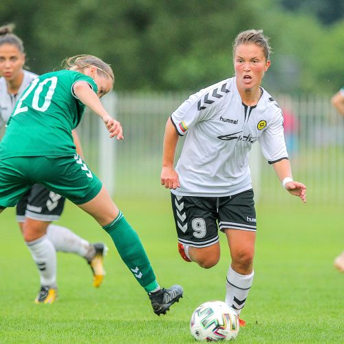 """Moterų A lyga: """"Kauno Žalgiris"""" – """"Gintra-U."""" 0:3  © Evaldo Šemioto nuotr."""