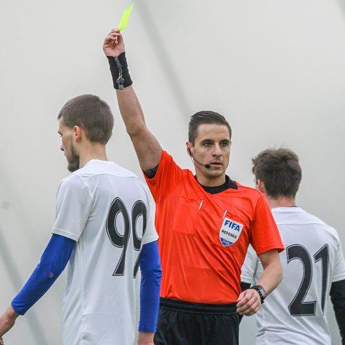 "Futbolo kontrolinės: ""K. Žalgiris"" – ""Nevėžis"" 2:2  © Evaldo Šemioto nuotr."