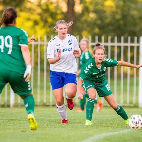"""Moterų A lyga: """"Kauno Žalgiris"""" – """"Utenis"""" 9:1  © Evaldo Šemioto nuotr."""