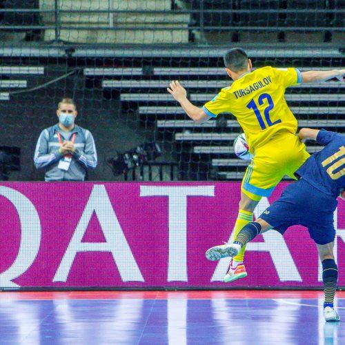 Kazachstanas – Tailandas 7:0 | Futsalo PČ  © Evaldo Šemioto nuotr.