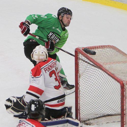 "LLRČ: ""Kaunas Hockey"" – ""EH-Klaipėda"" 6:3"
