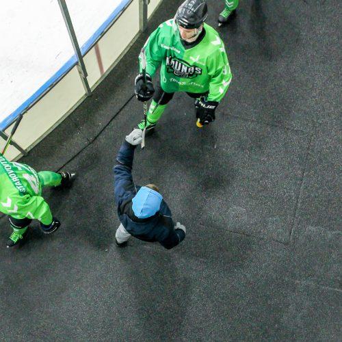 """L. ritulys: """"Kaunas Hockey"""" – """"Hockey Punks"""" 3:5  © Evaldo Šemioto nuotr."""
