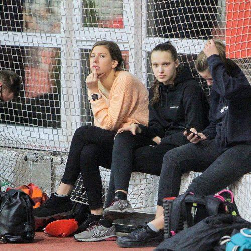 Lengvoji atletika. Kauno žiemos čempionatas 2020  © Evaldo Šemioto nuotr.