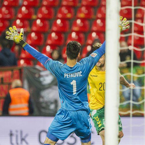 Tautų lyga: Lietuva – Juodkalnija 1:4  © Evaldo Šemioto nuotr.