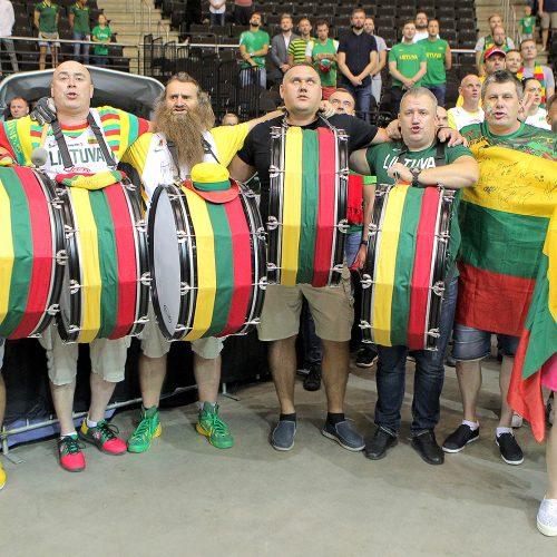 Krepšinis. Lietuva – Serbija 91:95  © Evaldo Šemioto nuotr.