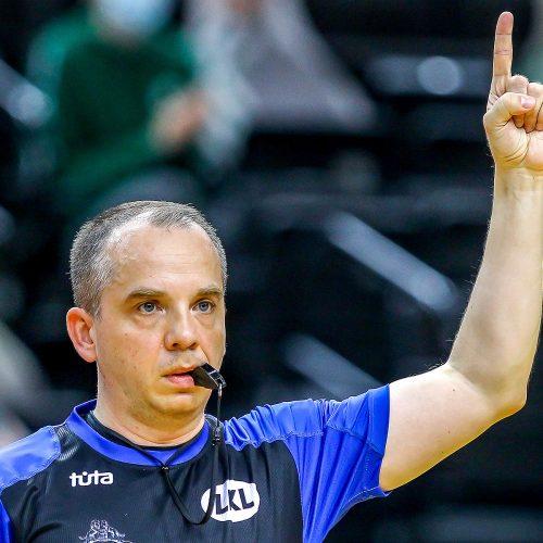 """LKL ketvirtfinalis: """"Žalgiris"""" – """"Pieno žvaigždės"""" 81:74  © Evaldo Šemioto nuotr."""