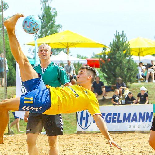 Paplūdimio futbolas. Lietuvos čempionato 2 etapas